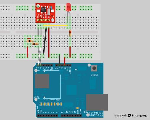 Bauteile für fritzing und bibliotheken arduino