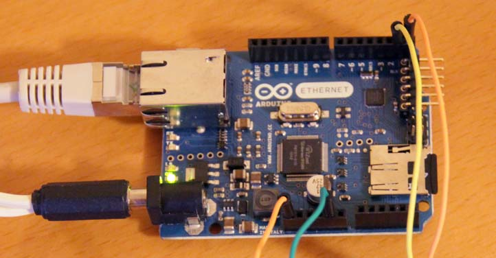 Arduino Ethernet Board